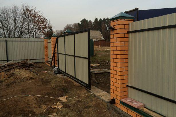 Установка автоматических ворот в Рязани