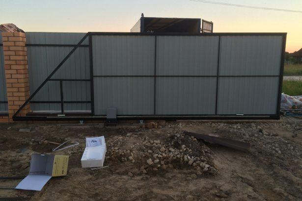 Установка автоматических ворот в Шацке