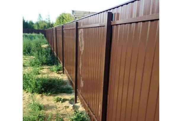 Забор из профнастила. КАЧЕСТВО!