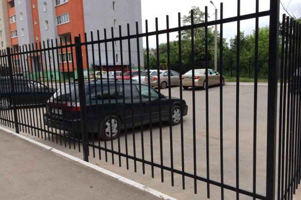 Сварной забор в Канищево