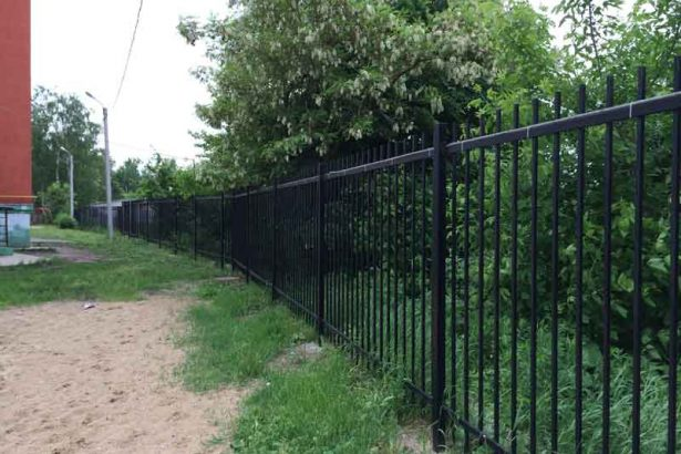 Сварной забор в Роще г. Рязань