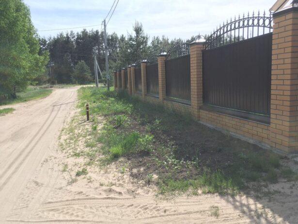 Забор в Рязани